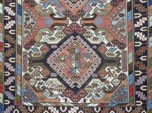 Traditioneel met de hand gemaakt Turks Tapijt stock fotografie