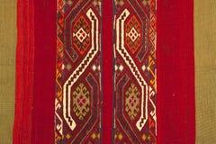 Traditioneel met de hand gemaakt Turks Tapijt stock foto's