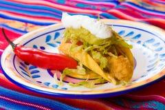 Traditioneel Mexicaans Voedsel stock afbeeldingen