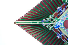 Traditioneel multicolored verfwerk Stock Afbeelding