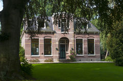 Traditioneel Nederlands huis Stock Foto's