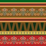 Traditioneel noordelijk ornament Stock Afbeelding