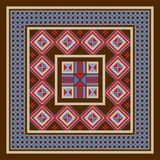 Traditioneel noordelijk ornament Royalty-vrije Stock Fotografie