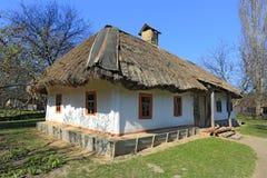 Traditioneel Oekraïens huis stock afbeeldingen