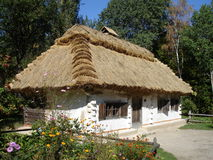 Traditioneel Oekraïens huis royalty-vrije stock fotografie