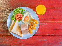 Traditioneel Ontbijt Stock Afbeelding