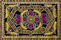 Traditioneel oosters tapijt Royalty-vrije Stock Afbeeldingen