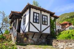 Traditioneel oud Bulgaars huis Royalty-vrije Stock Fotografie