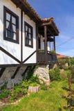 Traditioneel oud Bulgaars huis Royalty-vrije Stock Foto