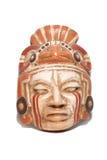 Traditioneel oud geïsoleerdr masker Royalty-vrije Stock Foto's