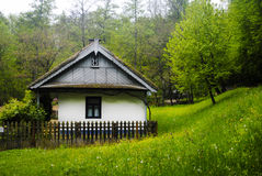 Traditioneel oud huis Royalty-vrije Stock Foto
