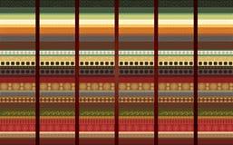 Traditioneel patroon Stock Afbeeldingen