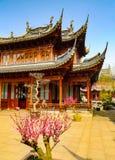 Traditioneel paviljoen in Yuyuan-Tuinen royalty-vrije stock afbeeldingen