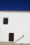Traditioneel Portugees wit huis Stock Foto's