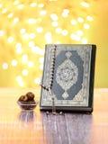 Traditioneel Ramadan Icons Stock Afbeelding