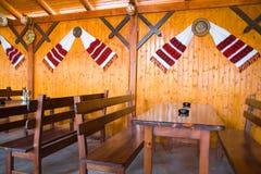 Traditioneel restaurant Stock Foto