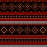 Traditioneel Roemeens borduurwerk stock illustratie
