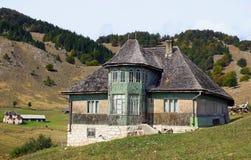 Traditioneel Roemeens Huis Royalty-vrije Stock Afbeelding