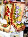 Traditioneel Roemeens voorwerp, gemaakte hand - Stock Afbeelding
