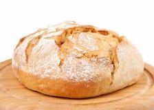 Traditioneel rond brood Royalty-vrije Stock Afbeeldingen