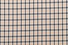 Traditioneel Schots grijs geruit Schots wollen stofpatroon Royalty-vrije Stock Foto