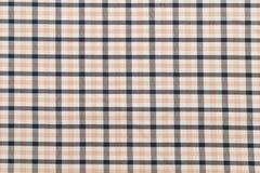 Traditioneel Schots grijs geruit Schots wollen stofpatroon Royalty-vrije Stock Afbeeldingen