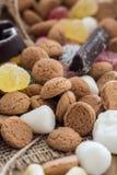 Traditioneel Sinterklaas-suikergoed Royalty-vrije Stock Fotografie