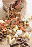 Traditioneel Sinterklaas-suikergoed Royalty-vrije Stock Foto