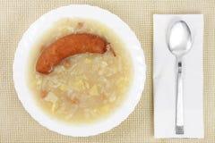 Traditioneel Sloveens voedsel stock fotografie