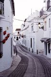 Traditioneel Spaans dorp royalty-vrije stock foto