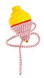 Traditioneel spinnend stuk speelgoed - trompo Stock Foto's