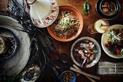 Traditioneel taginediner Stock Foto