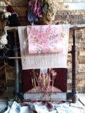 Traditioneel tapijt royalty-vrije stock foto's