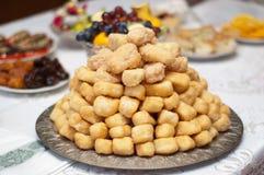 Traditioneel tatar zoet dessert. Royalty-vrije Stock Afbeeldingen