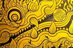 Traditioneel Thais Art. Stock Fotografie