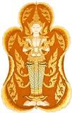 Traditioneel Thais Art. Stock Foto's