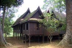 Traditioneel Thais Huis Royalty-vrije Stock Foto