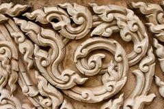 Traditioneel Thais stijl het vormen art. Stock Fotografie