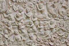 Traditioneel Thais stijl het vormen art. Stock Afbeeldingen