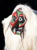 Traditioneel Tschaggatta masker, Zwitserland Stock Foto