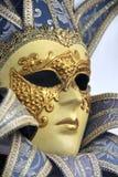 Traditioneel Venetiaans Carnaval masker. Venetië, Italië Stock Afbeelding