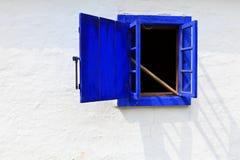 Traditioneel venster Royalty-vrije Stock Afbeelding