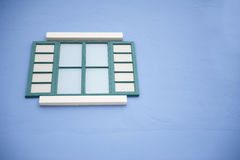 Traditioneel venster Stock Foto