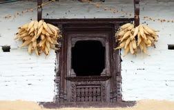Traditioneel venster Stock Afbeelding