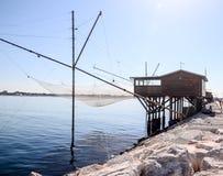 Traditioneel visserijhuis Stock Foto's