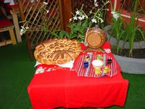 Traditioneel voedsel Royalty-vrije Stock Fotografie