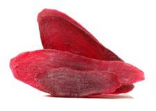 Traditioneel voedsel - Droge purpere bataat royalty-vrije stock fotografie