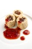 Traditioneel voedsel van Groot-Brittannië Stock Fotografie