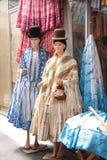 Traditioneel vrouwenkostuum van Zuid-Amerika Royalty-vrije Stock Fotografie
