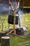 Traditioneel vuur royalty-vrije stock afbeelding